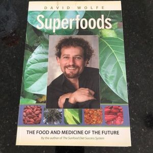 David Wolfe Superfoods book
